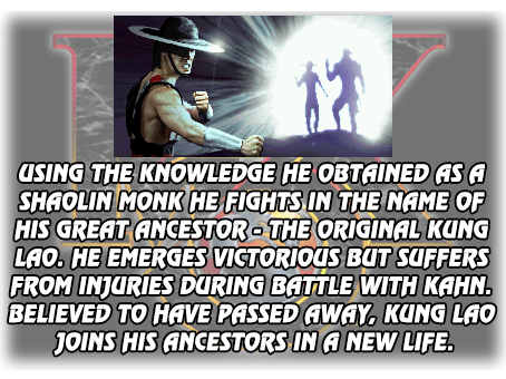 Kung Lao's Ending 2