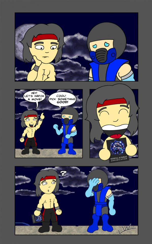 MK: Abridged Week 1 Comic Strip