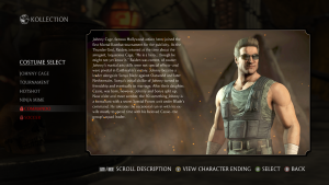 Commando Johnny Cage