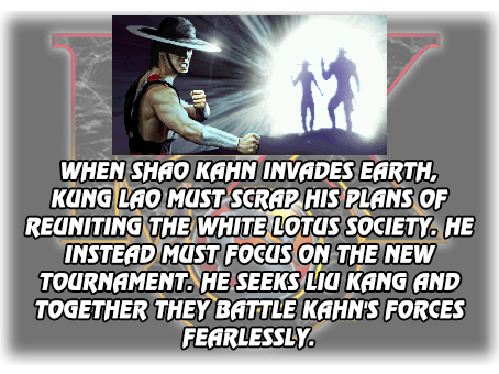 Kung Lao's Ending 1
